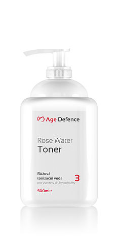 Rose Water Toner 500ml