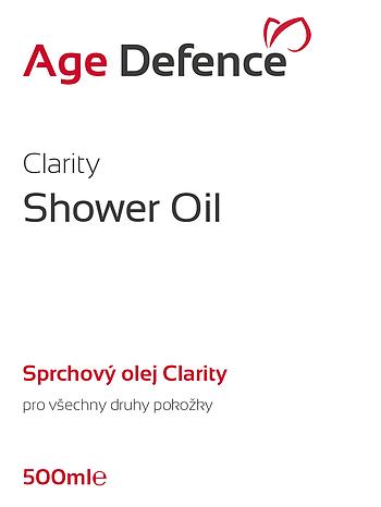 Clarity Shower Oil 500ml