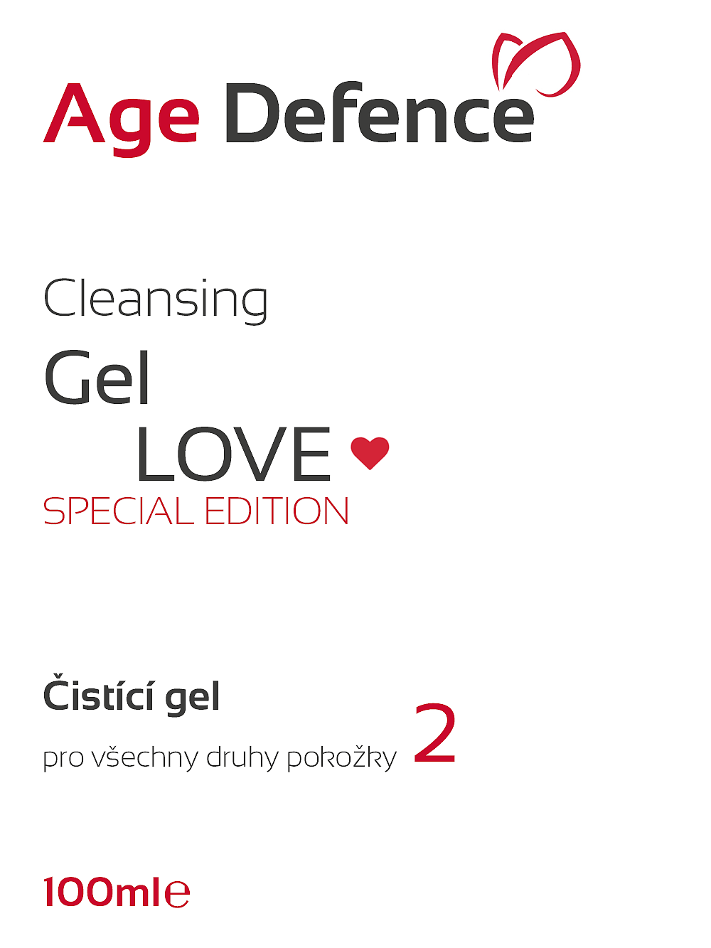 Cleansing Gel LOVE Special Edition