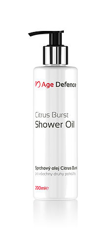 Citrus Burst Shower Oil 200ml