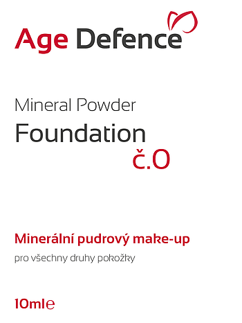 Mineral Powder Foundation 10ml č.0-Fair