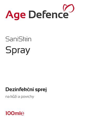 SaniSkin Spray 100ml